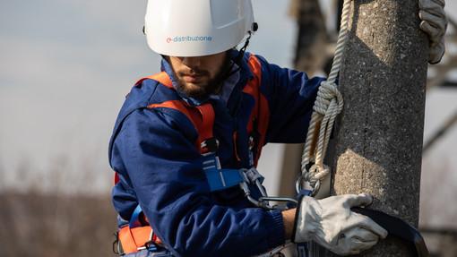 E-distribuzione: verso la conclusione i lavori di potenziamento della rete elettrica a Davagna