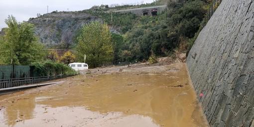 Arenzano, completamente riaperta al traffico la via Aurelia: rimossi dalla carreggiata circa 700 metri cubi di fango e detriti