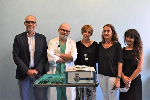 L'Associazione P.I.CE.A dona set di pinze alla Clinica Neurochirurgica e Neurotraumatologica dell'Ospedale Policlinico San Martino