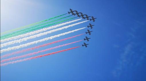 Ponte Genova San Giorgio: per l'inaugurazione tornano le Frecce Tricolori