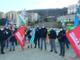 Scolmatore del Bisagno: in ritardo gli stipendi degli operai, sciopero con presidio presso il cantiere di via Adamoli