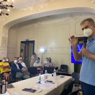 Paolo Nespoli fa visita al Festival dello spazio che si conclude oggi (FOTO)