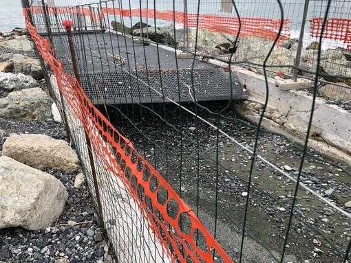 Multedo, i lavori alla foce del Rio Rostan finalmente completati