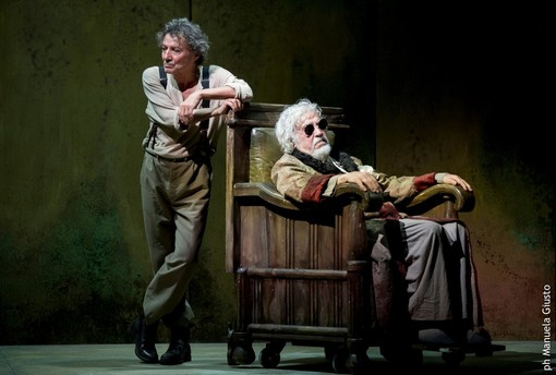 """Finale di partita"": Glauco Mauri recita Beckett al Duse"