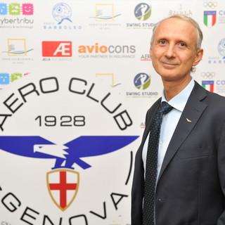 Lanata raddoppia ed è rieletto presidente dell'Aero club di Genova