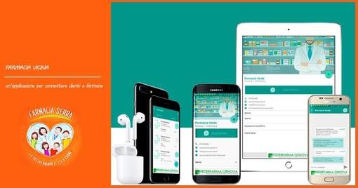 'Farmacia Vicina': come funziona l'app di Federfarma Genova
