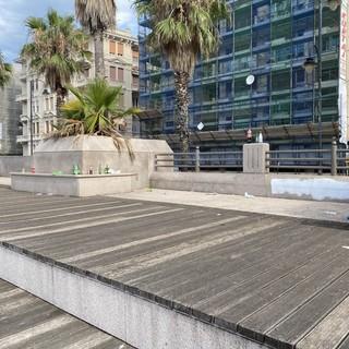 Pegli: ancora degrado ai Giardini Catellani e Avvenente chiede i cancelli