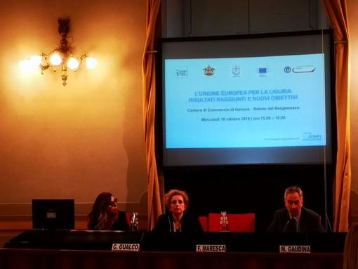 """""""Rigenerare la Valpolcevera"""", Gaudina: """"L'UE a fianco di Genova che vuole ripartire"""" (video)"""