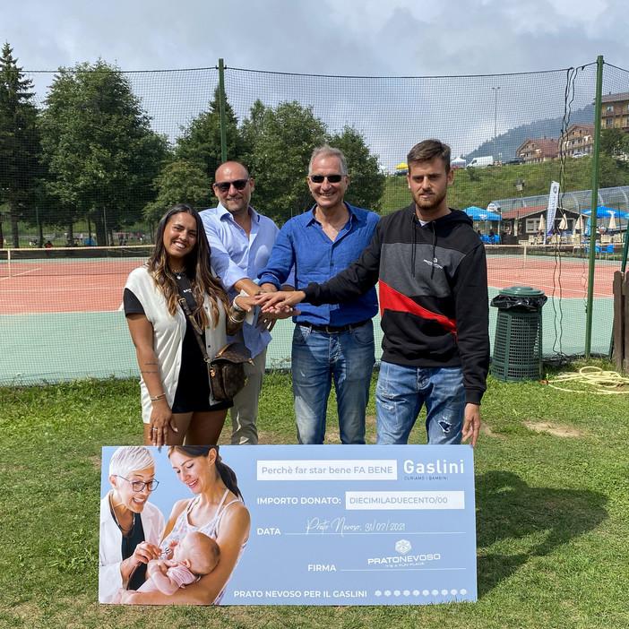 Prato Nevoso: i suoi turisti regalano sogni per 50 mila euro ai bambini del Gaslini