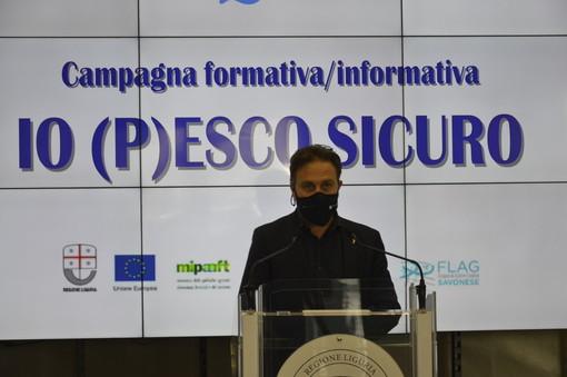 Regione Liguria lancia la campagna 'Io (P)esco sicuro' (FOTO e VIDEO)