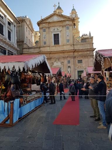 Mercatini di Natale: inaugurato anche quello di Confesercenti in Piazza Matteotti