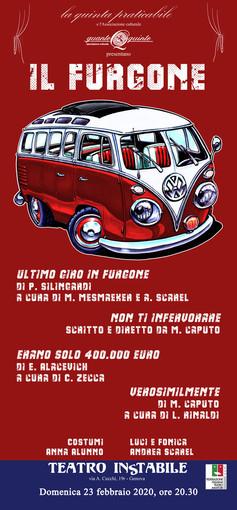 """Al teatro Instabile di Genova va in scena """"Il furgone"""""""