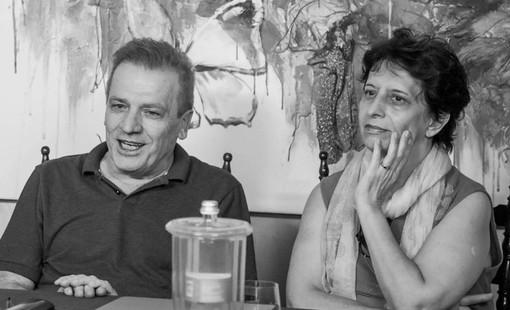 Il regista argentino Juan Bautista Stagnaro nello staff del film 'Il morso del ramarro'