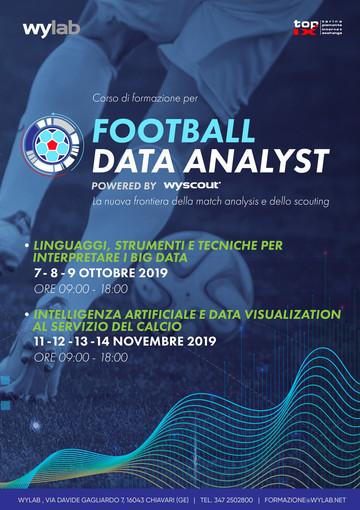 Wylab e Top-Ix lanciano il primo corso di formazione per football data analyst