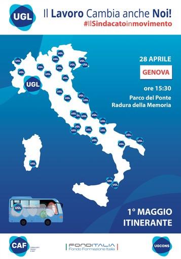 """A Genova arriva il tour nazionale dell'UGL """"Il Lavoro Cambia anche Noi!"""""""