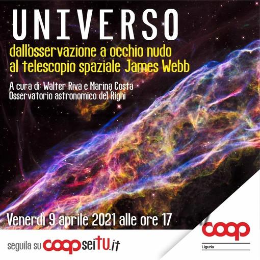 """""""Universo: dall'osservazione ad occhio nudo al telescopio spaziale James Webb"""""""