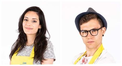 Lora Kayyal e Marco Palma, protagonisti genovesi a Bake Off Italia 2021 (foto tratta dal sito di Real Time)