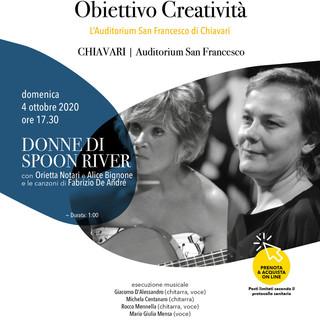 Teatro di Chiavari: domenica 4 ottobre in scena 'Donne di Spoon River'