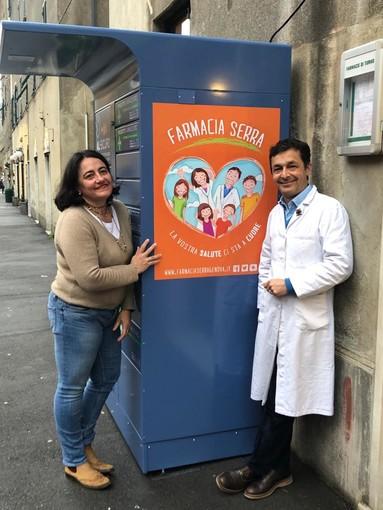 Voltri, la farmacia Serra attiva il punto di ritiro per limitare i contatti