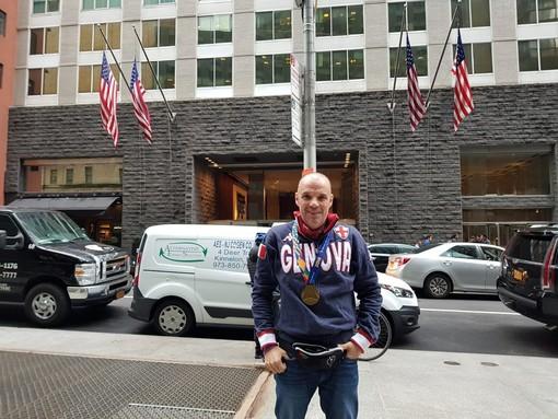 Il sogno è realtà: Maurizio Romeo conquista la Maratona di New York