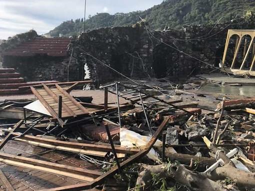 Mareggiata a Rapallo, agevolazioni Cosap per commercianti colpiti