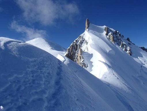 Monte Bianco, cresta Kuffner