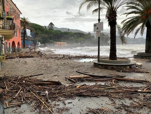 Allerta gialla, vento forte e mareggiata: Rapallo ancora colpita