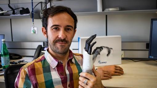 """""""Hannes"""": premio alla mano robotica che sostituisce per il 90% quella umana"""