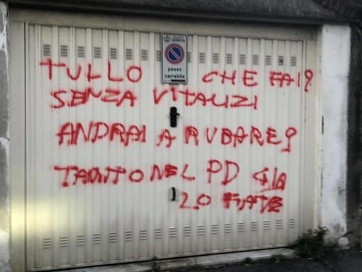 """Atto vandalico ai danni di Tullo (Pd): """"Non ho paura e mi guardo allo specchio serenamente"""""""