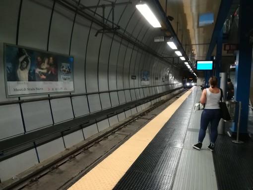 Metropolitana di Genova: prorogata all'una di notte la chiusura