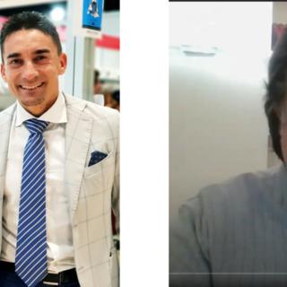 Massimo Ciaglia, Ceo di Grownnectia e Franco Colombo, Presidente Filasc