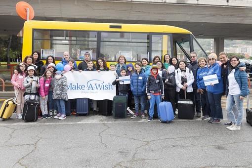 Make-A-Wish: arrivano a Genova i compagni di Maria Chiara