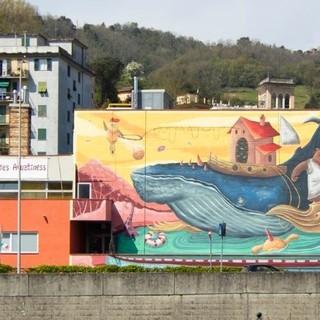 I murales approdano nel Municipio IX Levante