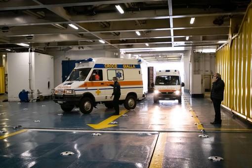 Sale a 21 il numero dei pazienti sulla nave-ospedale Gnv Splendid