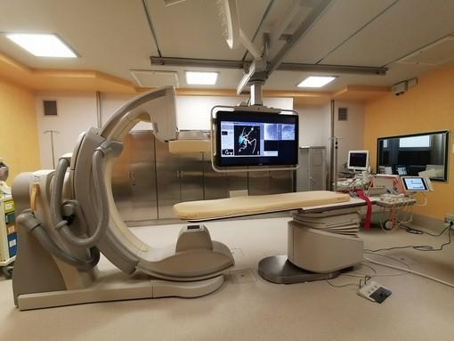 Un nuovo angiografo in dotazione all'Unità Operativa Radiologia Interventistica dell'ospedale San Martino