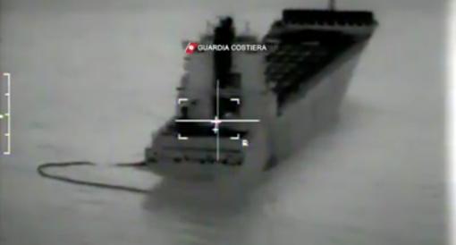 Incidente navi: l'inquinamento si allontana dalla costa ligure