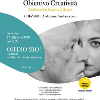 Chiavari: riparte 'Obiettivo Creatività' all'auditorium San Francesco