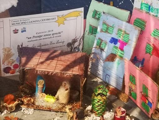 """""""Un Presepe senza sprechi"""": in via Garibaldi le Natività delle scuole del Municipio Centro Est"""