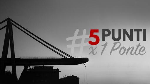 """""""5 Punti per un ponte"""": la petizione online per modificare il Decreto Genova"""
