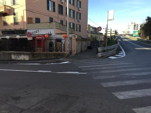 Via dei Reggio, prove di messa in sicurezza del casello autostradale