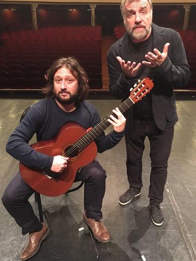 """Ugo Dighero e Christian Lavernier in scena al Duse con """"Platero Y Yo"""""""