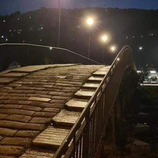 Ponte Carrega: una nuova illuminazione per il ponte simbolo della Valbisagno