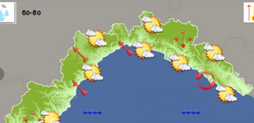 Meteo: sarà un mercoledì 30 settembre altalenante, con tempo nuvoloso e schiarite sul genovese