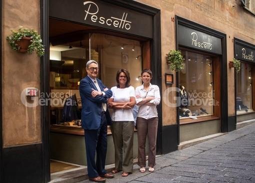 Nella foto: Stefano, Francesca e Alessandra Pescetto