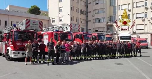 Commemorazione vittime: l'omaggio delle sirene dei pompieri (VIDEO)