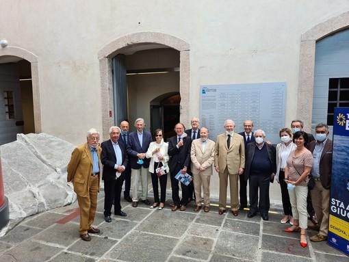 Presentata al Galata Museo del Mare la Targa dedicata ai Primi Fondatori dell'Associazione Promotori Musei del Mare
