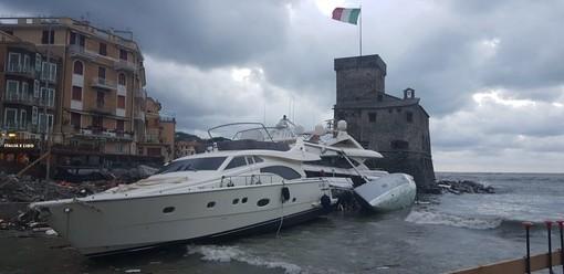 Rapallo, danni del maltempo (foto di Marino Scarnati)
