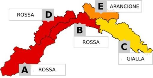 Maltempo: allerta rossa a Genova