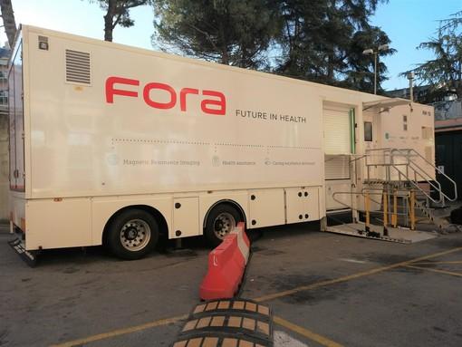 Risonanza magnetica mobile al San Martino