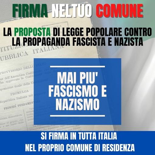 Legge antifascista Stazzema: anche in piazza dell'Olmo la raccolta firme per sostenerla